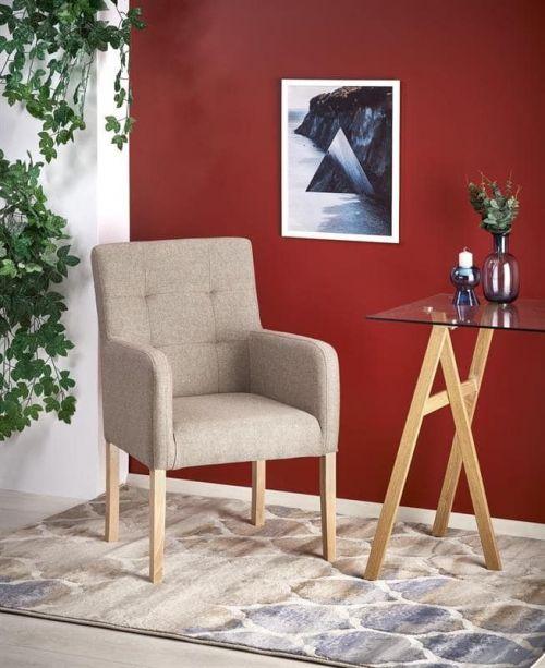 Кресло Halmar FILO (дуб медовый/inari 23)