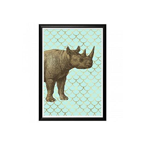 Арт-постер «Самый обыкновенный носорог»