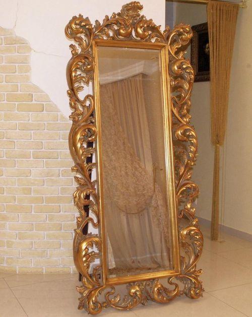 """Зеркало """"Меривейл"""" Ludwigs Gold/99"""