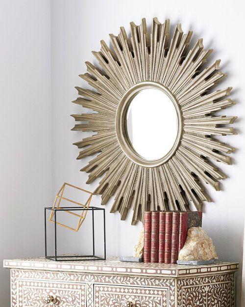 """Зеркало """"Эллисон"""" Florentine Silver/19"""