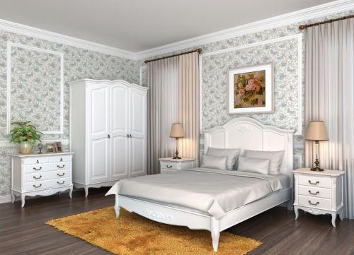 Кровать с жесткой спинкой 140*200 В203G