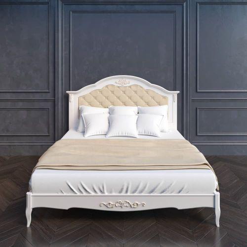 Кровать 120*200 с мягким изголовьем В212