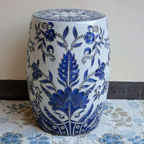 Керамический табурет Цветок