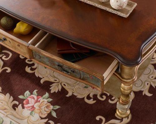 Журнальный стол Cilan 120, золотой
