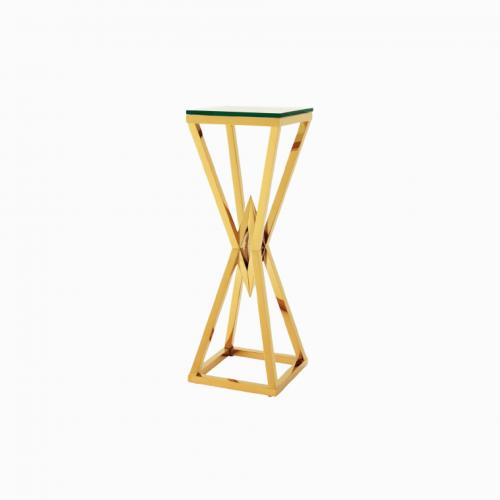 Приставной столик Lingot  Золото