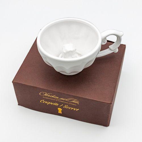 Чашка чайная «Секрет», версия «Ангел мой»