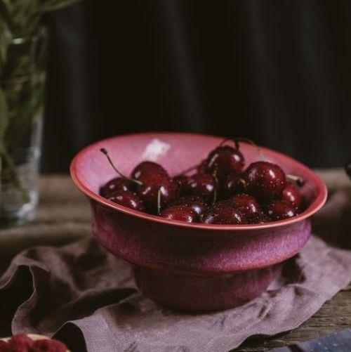 Глубокая овальная тарелка серия «Поцелуй Арве